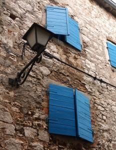 Fenster, Vrsar, Kroatien